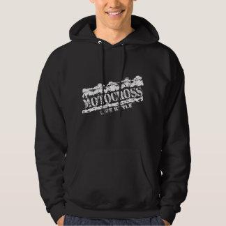 mx life style black hoodie