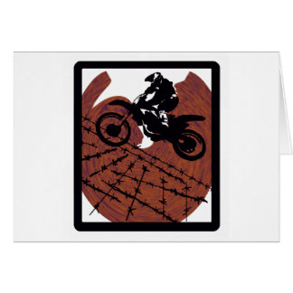 MX OUT LANDS GREETING CARD