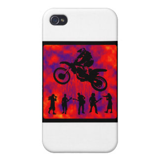 MX RED BAZERK iPhone 4 CASE