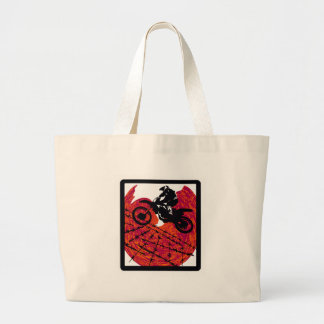 MX RED HOUND JUMBO TOTE BAG