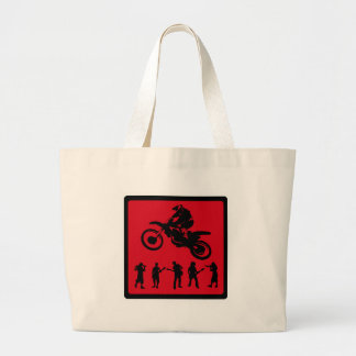 MX RED RIDERS CANVAS BAGS