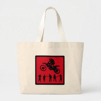 MX RED RIDERS JUMBO TOTE BAG