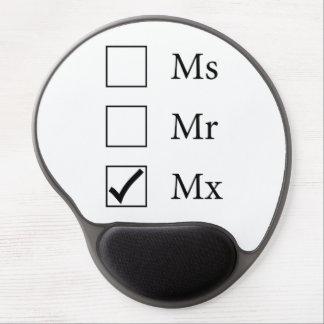 Mx Title (Three Options) Gel Mousepad