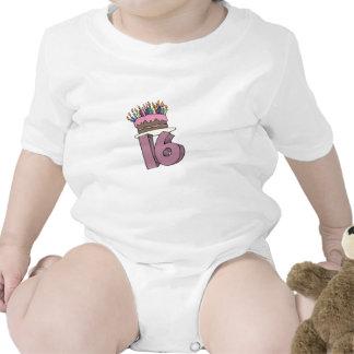 My 16th Birthday Gifts Baby Bodysuit
