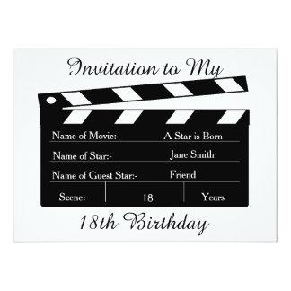 My 18th BIRTHDAY PARTY INVITATION CARD