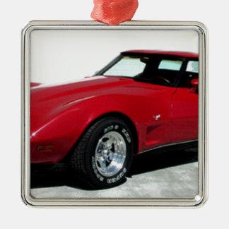 My 1979 Red Corvette Christmas Ornament