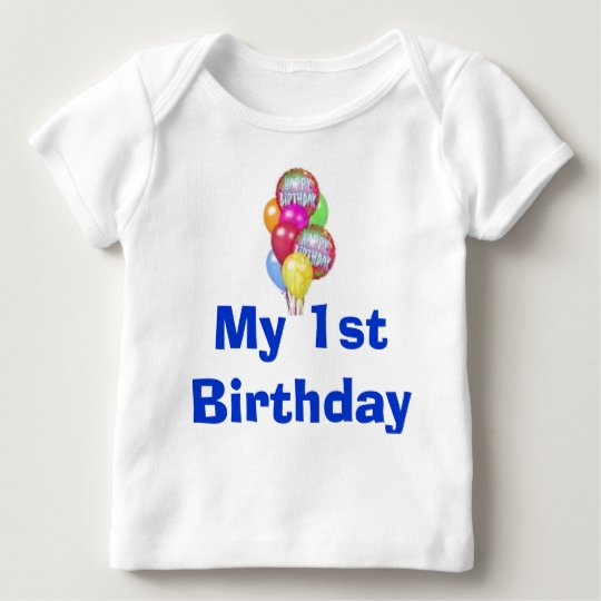 My 1st Birthday Baby T-Shirt