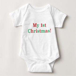 My 1st Christmas! Baby Bodysuit