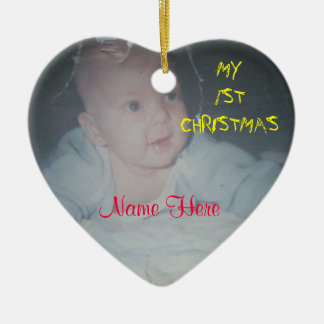 MY 1ST CHRISTMAS Baby Ornament