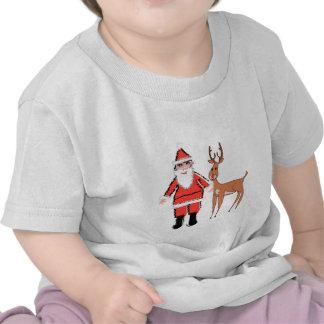 My 1st Christmas Santa & Rudolph Shirt