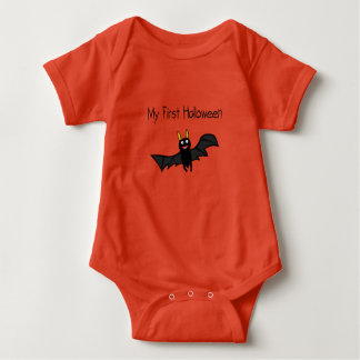 My 1st Halloween Bat Baby Bodysuit