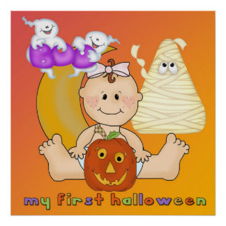 My 1st Halloween Poster/Print
