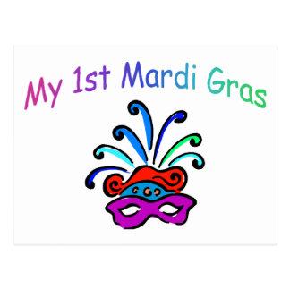 My 1st Mardi Gras Postcard