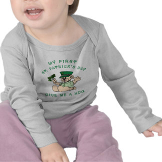 My 1st St Patrick's Day Baby Tees T Shirts