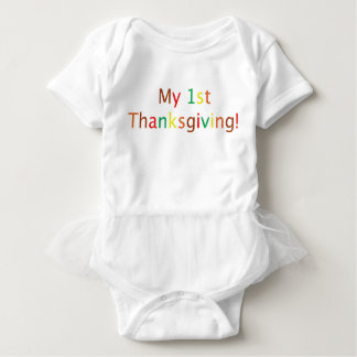 My 1st Thanksgiving! Baby Bodysuit