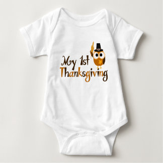 My 1st Thanksgiving Baby Bodysuit