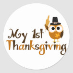 My 1st Thanksgiving Stickers