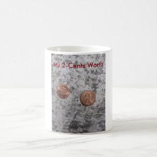My 2-Cents Worth Coffee Mug