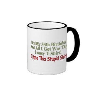 My 35th Birthday Gifts Coffee Mug