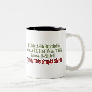 My 35th Birthday Gifts Mugs