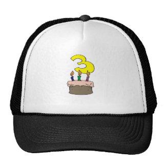 My 3rd Birthday Gifts Cap