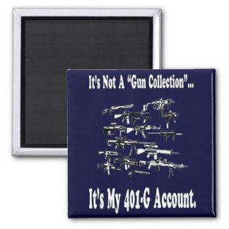 My 401-G Account Magnet