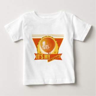 My 55th Birthday Gifts Baby T-Shirt