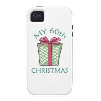MY 60TH CHRISTMAS VIBE iPhone 4 COVERS