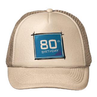 My 80th Birthday Gifts Mesh Hats