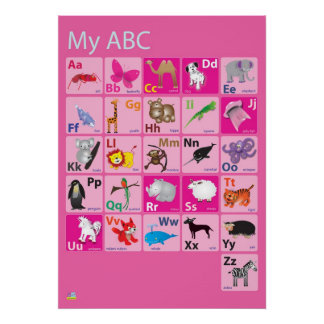 My ABC Poster