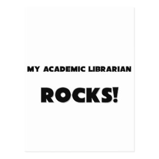 MY Academic Librarian ROCKS! Postcards