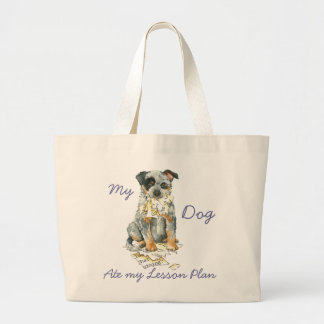My ACD Ate My Lesson Plan Large Tote Bag