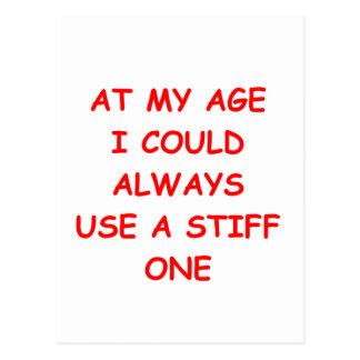 my age postcard