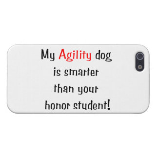 My Agility Dog is Smarter iPhone 5/5S Covers