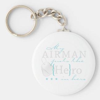 My Airman puts the He in Hero Key Ring