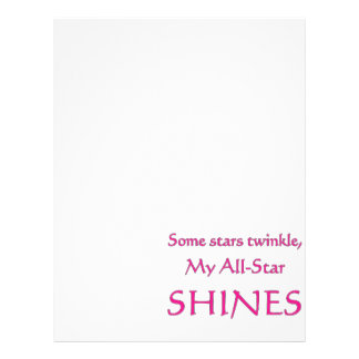 My all-star shines. Proud parent of an all-star Custom Flyer