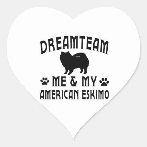 My American Eskimo Dog Sticker