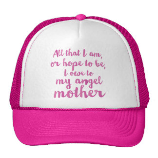 My angel Mother's Day cap