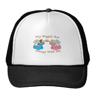 My Angels Are Always With Me Trucker Hat