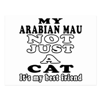 My Arabian Mau not just a cat Postcard