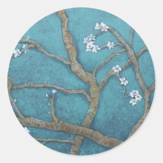 my art round sticker
