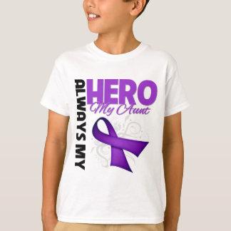 My Aunt Always My Hero - Purple Ribbon Tshirt