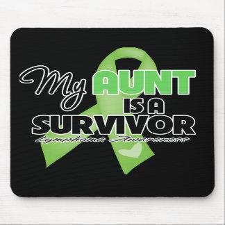 My Aunt is a Survivor - Lymphoma Mouse Pad