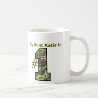 My AUNT is Number One Custom Name Mug Gift