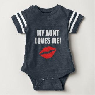 My Aunt Loves Me Baby Bodysuit