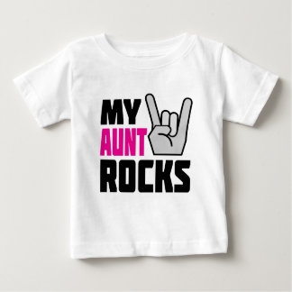 My Aunt Rocks Baby T-Shirt