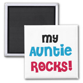 My Auntie Rocks Tshirts and Gifts Magnet