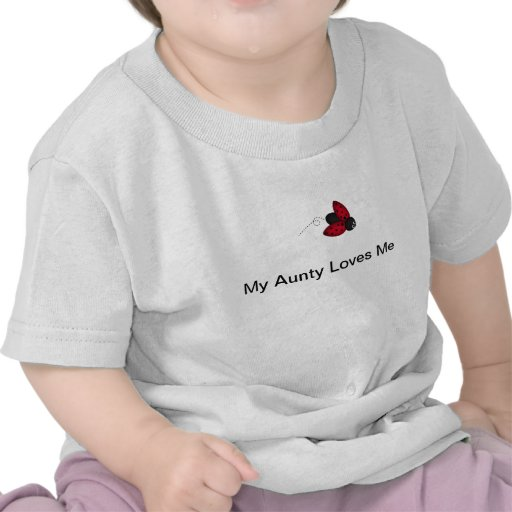 My Aunty Loves Me Baby T-Shirt