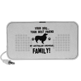 My australian shepherd family, your dog just a bes mini speakers