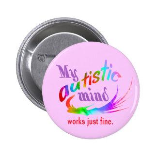 My Autistic Mind Pins
